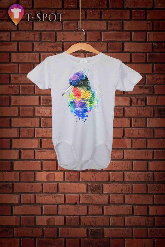 Colorful Birdie Art